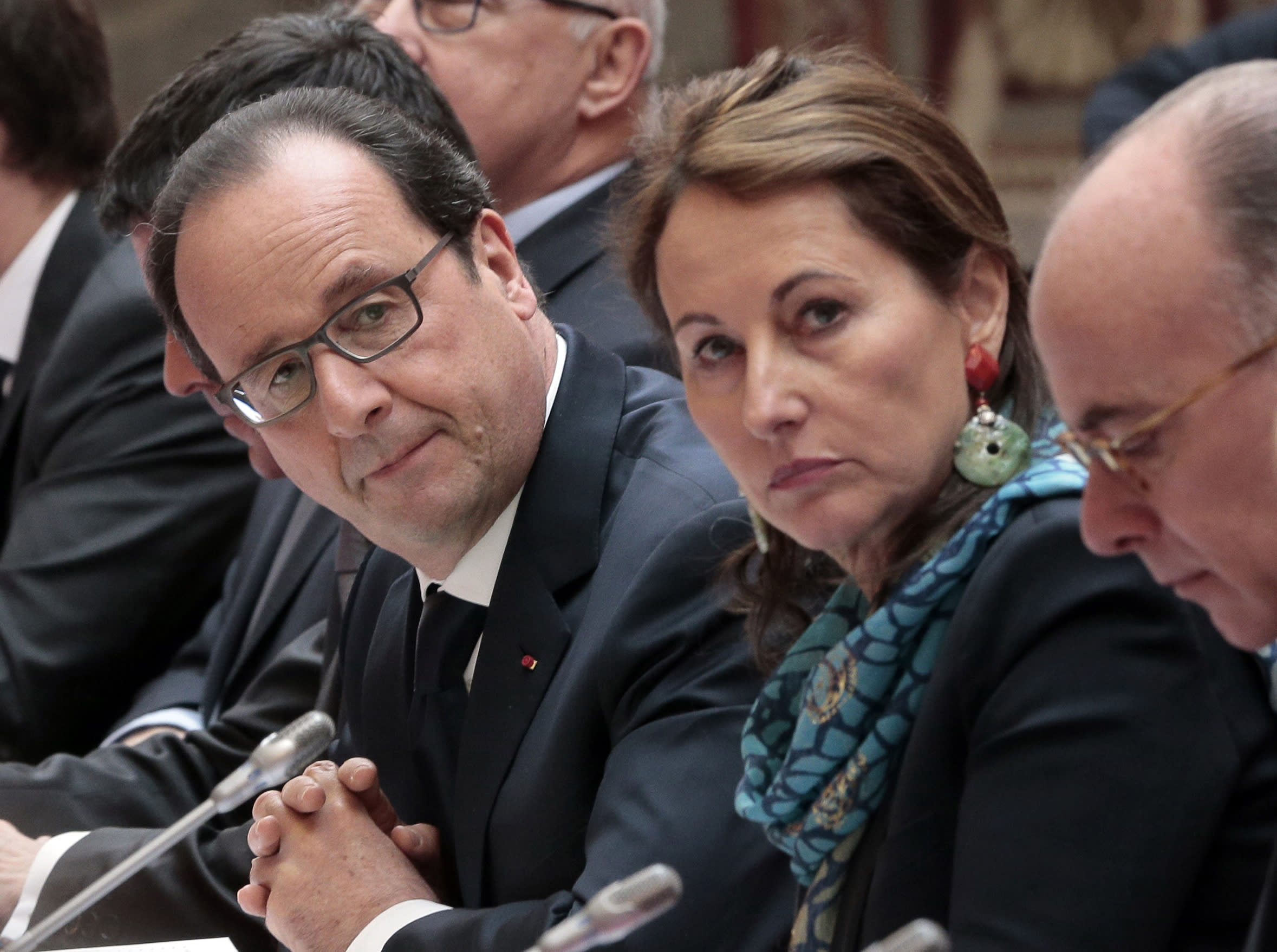 French president revives political duo with his ex