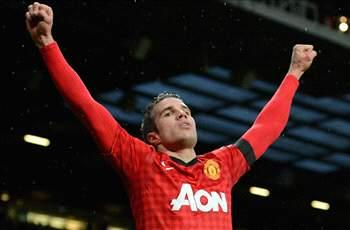 Goal-starved Van Persie still 'fantastic,' insists Sir Alex Ferguson