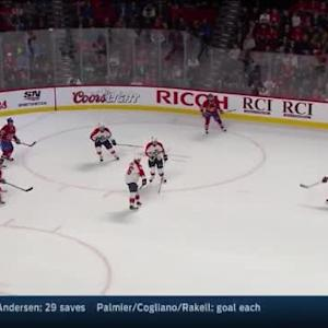 Roberto Luongo Save on P.K. Subban (17:24/1st)
