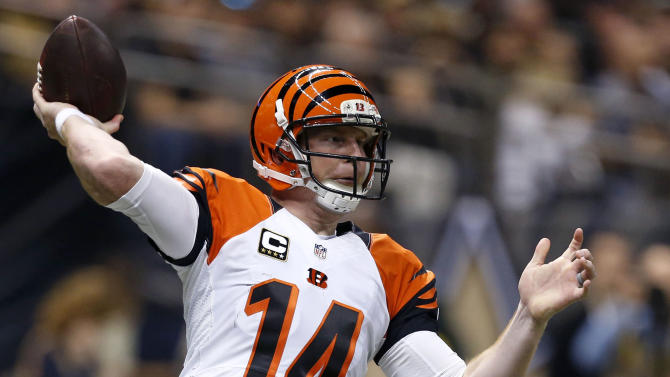 Bengals' AJ McCarron returns from shoulder problem