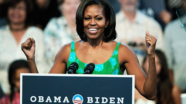 ET FIRST: Mrs. Obama on Bangs & Lance Armstrong