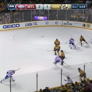 Pekka Rinne Save on Greg Pateryn (15:12/2nd)
