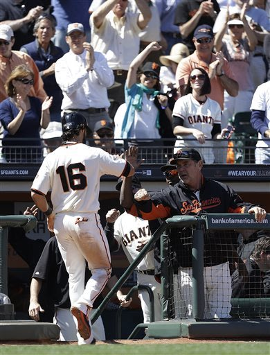 Harper leads Nationals over Giants in 10 innings