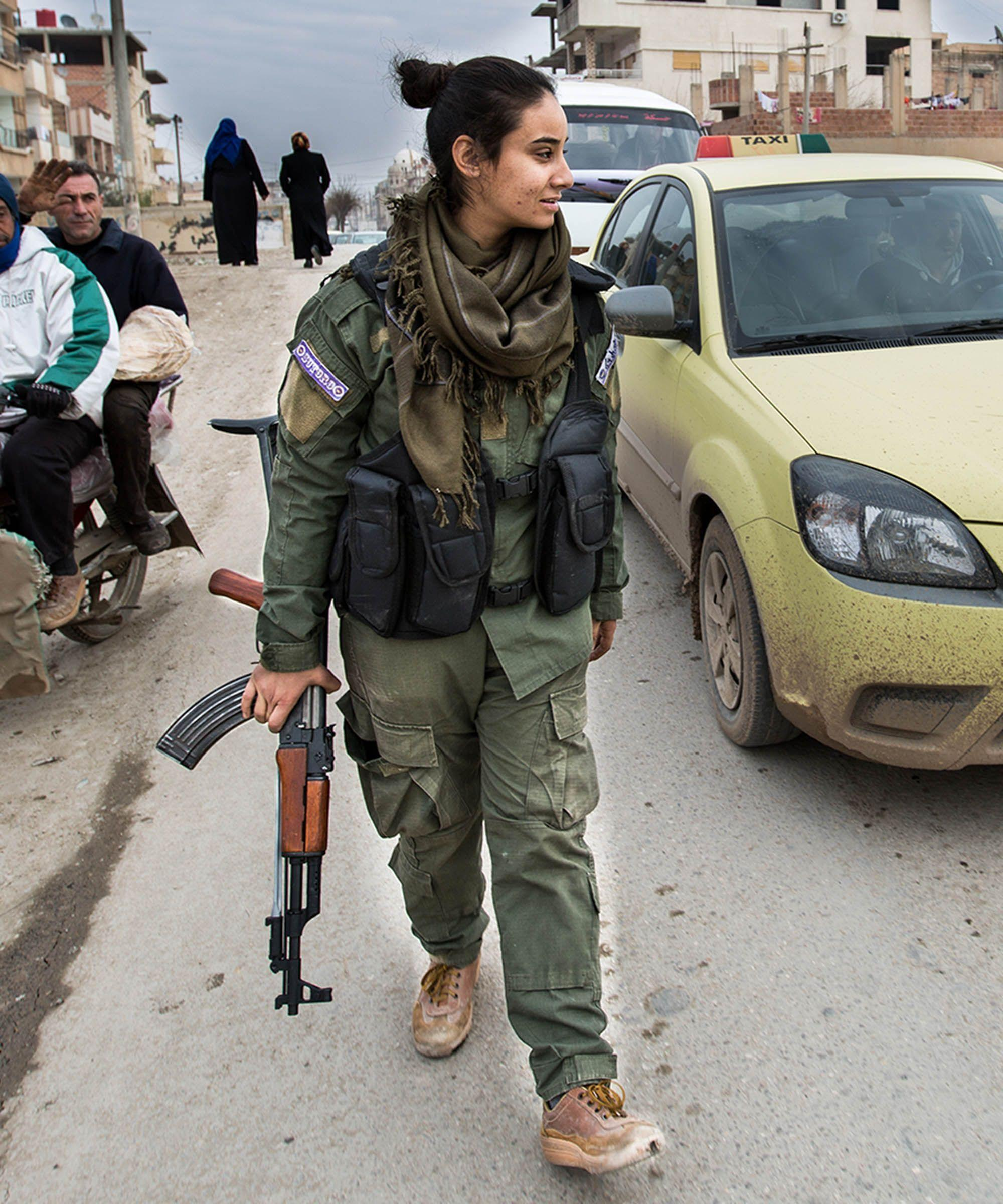 The Brave Women Fighting ISIS