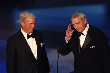 Tom Brokaw and Dan Rather Emmy Awards - 9/18/2005