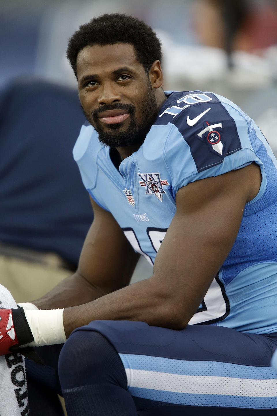 Titans sit WR Kenny Britt with cracked rib vs Jets