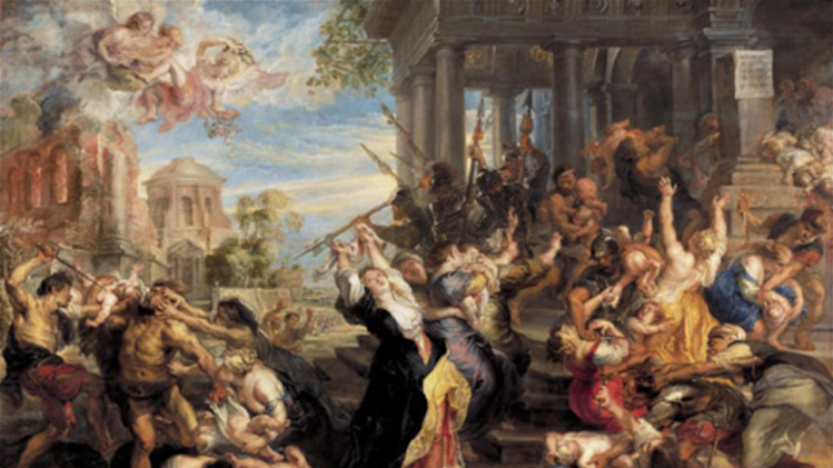"""Massacre of the Innocents"" by Peter Paul Rubens, sold for $76.7 millions in 2002."