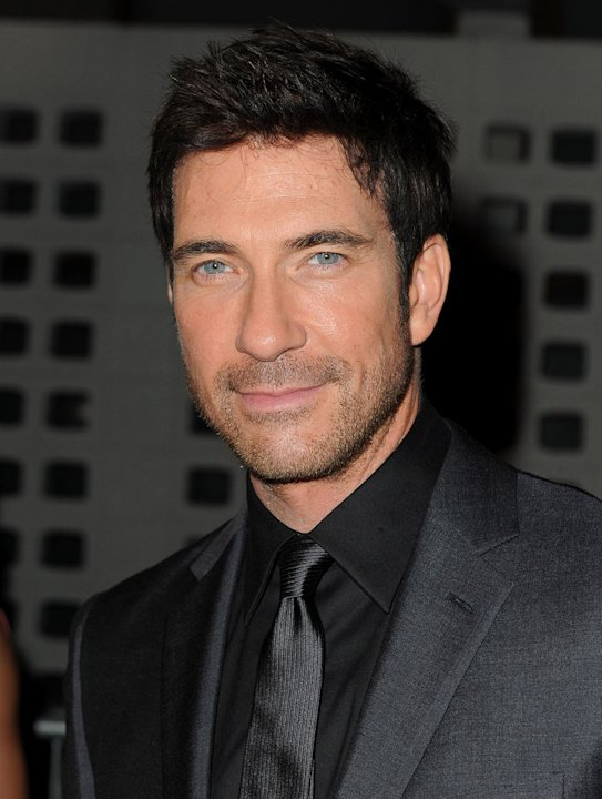 "Dylan McDermott arrives at the premiere of FX's ""American Horror Story"" at the ArcLight Cinemas Cinerama Dome on October 3, 2011 in Hollywood, California."
