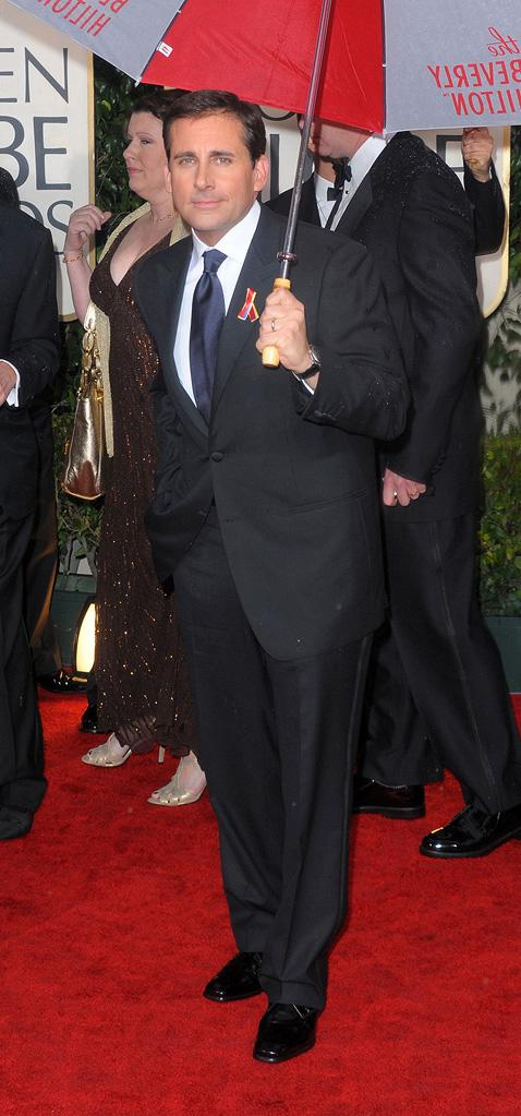 67th Annual Golden Globe Awards 2010 Steve Carrell