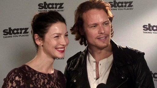 'Outlander': Caitriona Balfe and Sam Heughan Share Their Favorite Scenes
