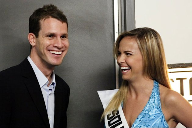 Daniel Tosh and Miss Teen South Carolina 2007 in &quot;Tosh.0.&quot; 