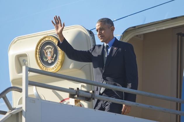 Obamageddon Is In Effect As POTUS Arrives In L.A. For 'Ellen' & Fundraisers – Update