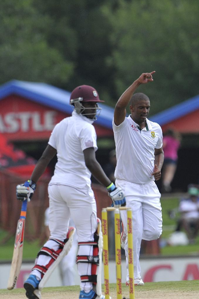Philander the destroyer as West Indies crumble