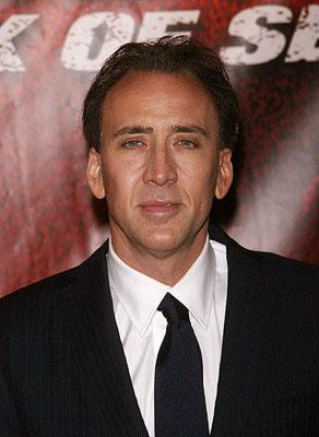 Nicolas Cage at the New York City premiere of Walt Disney Pictures' National Treasure: Book of Secrets