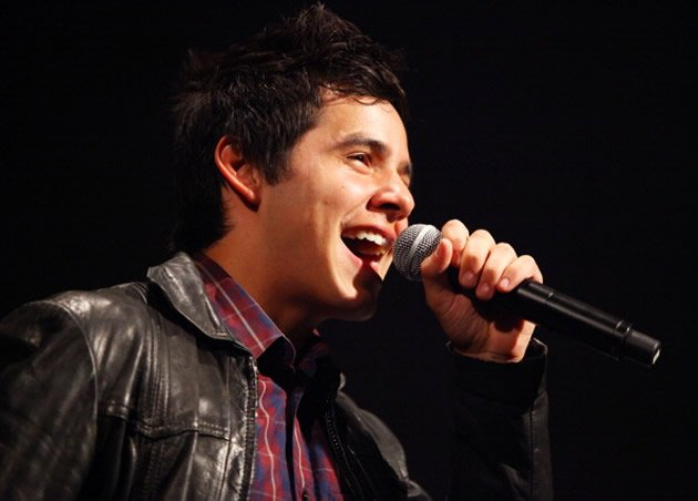 Singer David Archuleta's Singapore gig has been cancelled indefinitely. (Getty Images)
