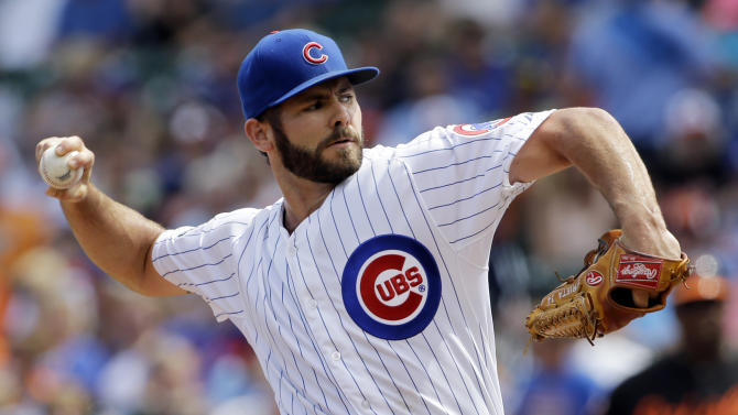 Arrieta leads Cubs past Orioles 4-1