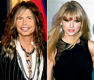"Steven Tyler Calls Taylor Swift ""Hot,"" Says He Wants to ""Write a Song With Her"""