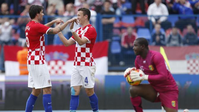Modric, Mandzukic to lead Croatia at WCup