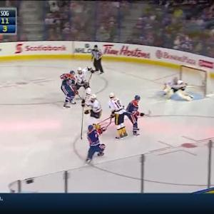 Pekka Rinne Save on Taylor Hall (00:41/2nd)