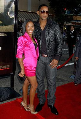 Jada Pinkett Smith and Will Smith at the Westwood Premiere of Universal Pictures' The Kingdom