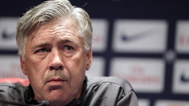 FOOTBALL PSG Paris Carlo Ancelotti