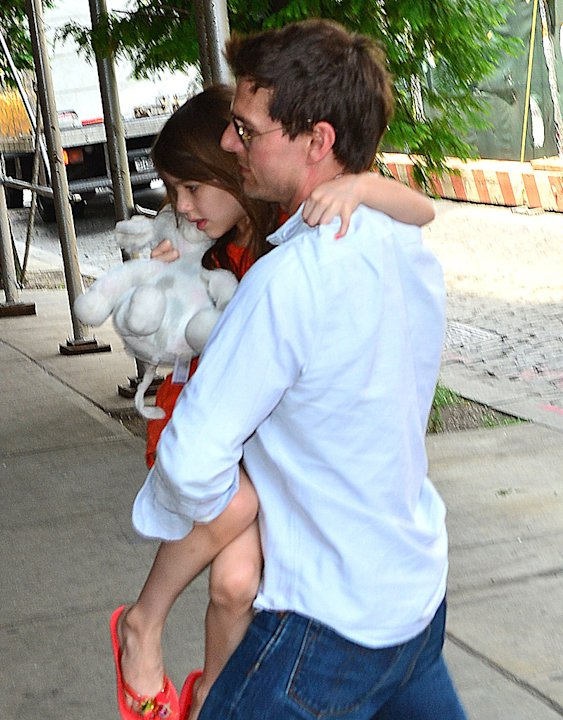 Celebrity Sightings In New York City - July 17, 2012