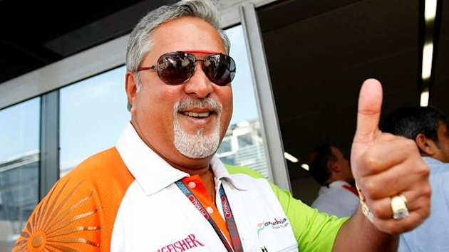 Vijay Mallya of Force India (Reuters)