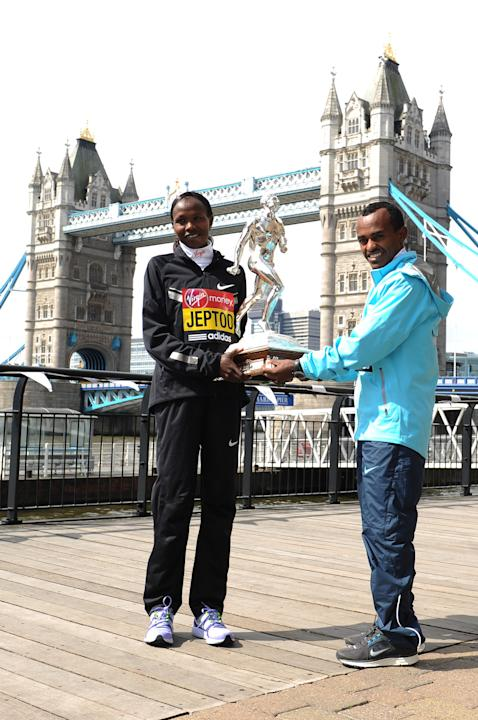 Virgin London Marathon - Winners Photocall