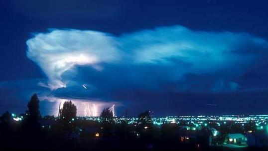 Storm Clouds Crawling With Bacteria