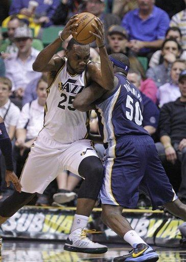 Randolph, Memphis beat Jazz 99-86 to halt skid