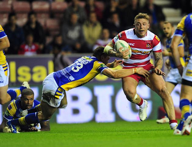 Rugby League - Super League Semi-Final - Wigan Warriors v Leeds Rhions - DW Stadium