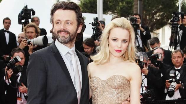 Rachel McAdams and Michael Sheen arrive at the 'Sleeping Beauty' premiere during the 64th Annual Cannes Film Festival at the Palais des Festivals on May 12, 2011 in Cannes, France -- Getty Images