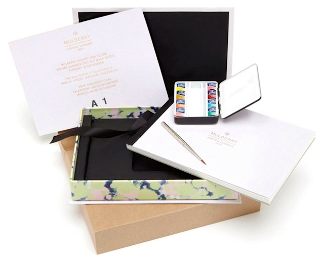 WOW! Look At Mulberry's Spring Summer 2013 Invitations For London Fashion Week