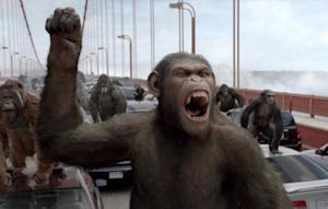 """""""Rise of the Planet of the Apes"""" -- Twentieth Century Fox"""