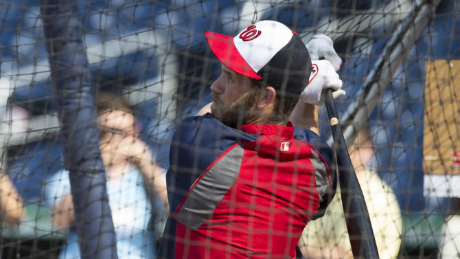 Nationals reinstate star OF Bryce Harper from DL