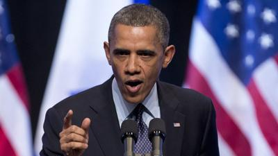 Obama Urges Israelis to Compromise