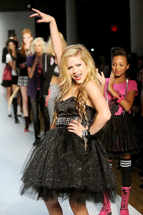 Lavigne Avril Fashion Show