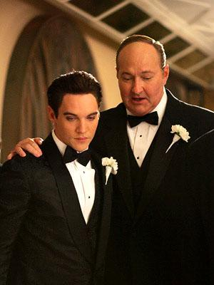 "Elvis (Jonathan Rhys-Meyers) and his manager Colonel Tom Parker (Randy Quaid) ""Elvis"" - 2005"