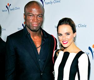 Seal Steps Out With Power Rangers Actress Erin Cahill One Year After Heidi Klum Split