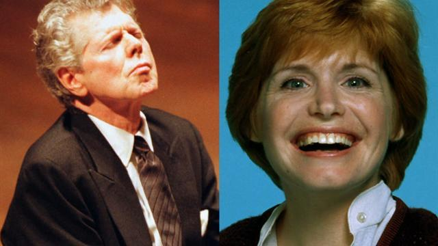 Sunday Passage: Van Cliburn and Bonnie Franklin