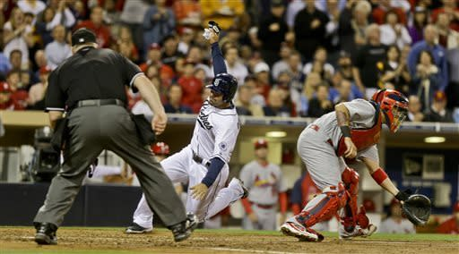 Marquis wins 5th straight, Padres beat Cards 4-2