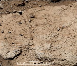 Mars Rover Curiosity to Drill Into Bumpy 'Cumberland' Rock