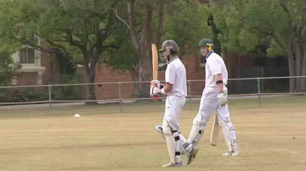 Cricket champs close to defending title