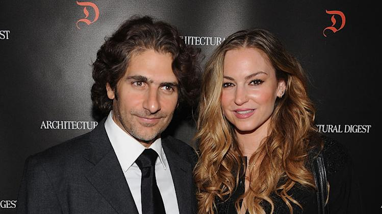 Michael Imperioli and Drea de Matteo arrive at the Studio Dante Benefit at The Rubin Museum of Art Sponsored by Architectural Digest on March 31, 2008 in New York City.