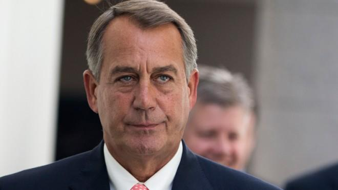 Boehner needs to embrace a different tagline.