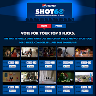 18 Of The Coolest Indian Social Media Campaigns Of Quarter 1 2013 image Pepsi Shot 60 Facebook1