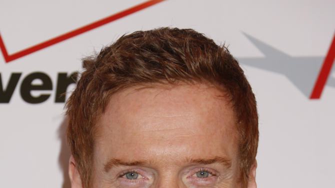 Damian Lewis attends the 13th Annual AFI Awards Luncheon at the Four Seasons Hotel Los Angeles at Beverly Hills on Friday, January 11, 2013 in Los Angeles. (Photo by Todd Williamson/Invision/AP)