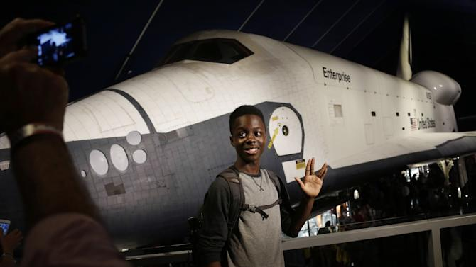 Space shuttle Enterprise reopens to NYC visitors