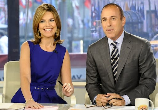 Report: Today Offers Promotion to Savannah Guthrie, Ann Curry Not Getting $10 Mil Payout
