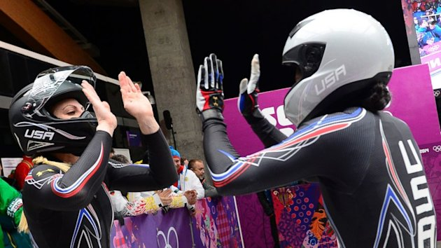 Former US Olympic Sprinter Wins Silver in Bobsled (ABC News)